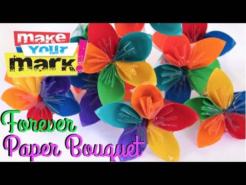 How to: Forever Paper Bouquet
