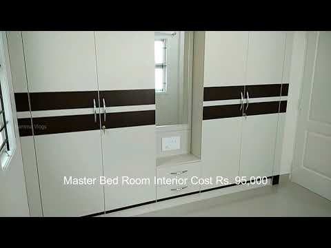 Rs.2,50,000 interior design for double bed room apartment in chennai