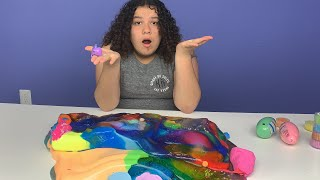 MIXING ALL MY STORE BOUGHT SLIMES  - GIANT SLIME SMOOTHIE PART 2