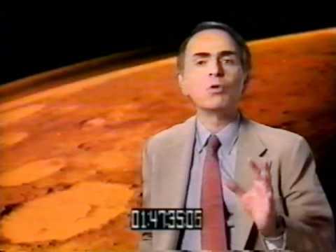 Carl Sagan and the  Face on Mars