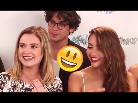 The 100 Cast  Funny Moments Best 2018★