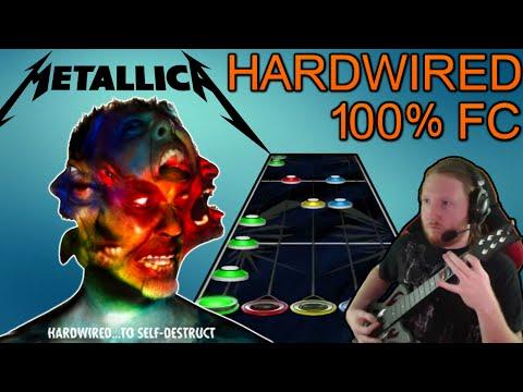 Metallica - Hardwired 100% FC (NEW SONG! Guitar Hero Custom)