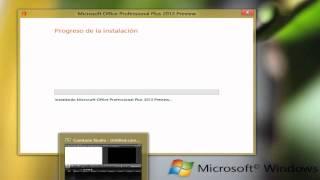 INSTALACION DE MICROSOFT OFFICE PLUS 2013