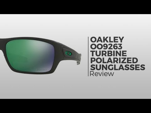 Oakley Turbine Polarized OO9263 Sunglasses Review | SmartBuyGlasses