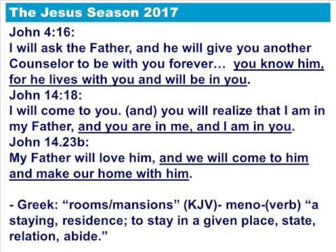 RiverTree Community Church - Jesus Season 2017 - Abide in Ch