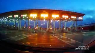 Трасса М11 со звуком дороги Санкт-Петербург - Москва в реальном времени! St.Petersburg Moscow Drive!