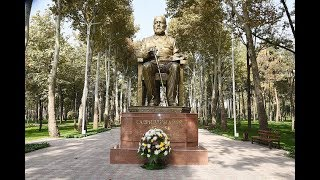 Парк им. Садриддина Айни после реконструкции