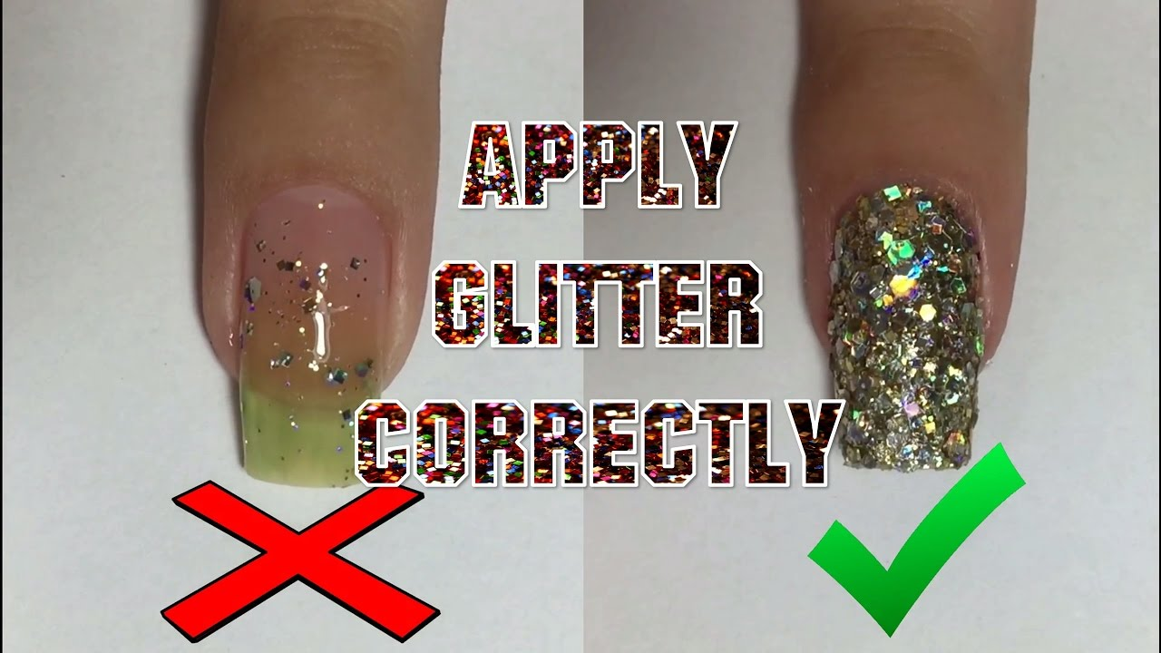 How to correctly apply glitter nail polish nail art 101 youtube how to correctly apply glitter nail polish nail art 101 prinsesfo Choice Image