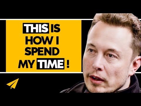Elon Musk's INSANE Schedule - How to be the NEXT Elon Musk - #MentorMeElon