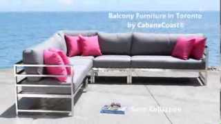 Balcony Furniture In Toronto - Cabanacoast® Patio Furniture