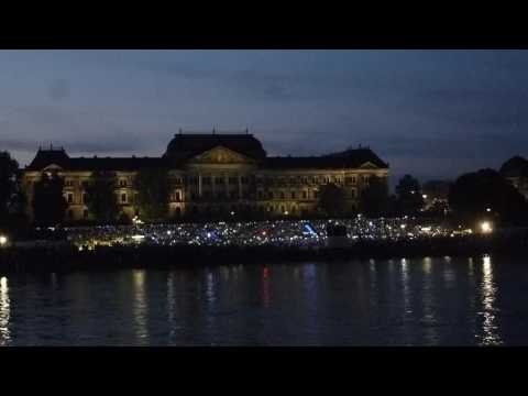 Serenade beim DEPT 2016 in Dresden: Über den Wolken