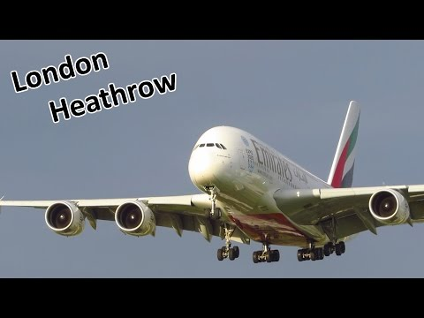 25+ Minutes | EVENING ARRIVALS at London Heathrow Airport: A380, 747, A340, 777, A330, 767 & more!