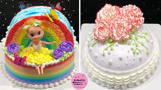 Awesome Rainbow Cake Decorating Tutorials | Easy Colorful Cake Hacks Compilation for Birthday Girl