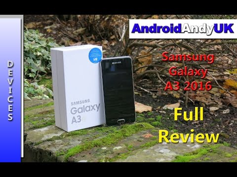 Samsung Galaxy A3 2016 Full Review