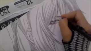 Drawing saito hajime from Hakuouki