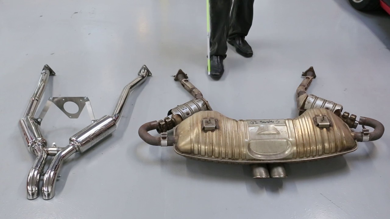 Porsche 986 Spec Boxster Competition Race Exhaust System (1997-2004)