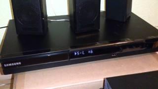 Samsung HT-E330 - bass test