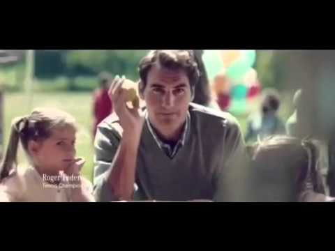 Roger Federer Starred in Mercedes V-Class Commercial - Twin Power 🤗