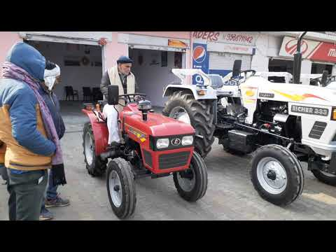 Eicher 188 20 Hp Tractor Macnical steering