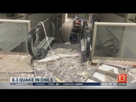 Powerful earthquake shakes Chilean capital