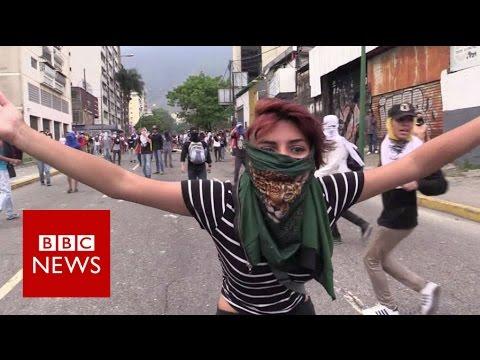 Venezuela: Anti- government protests - BBC News