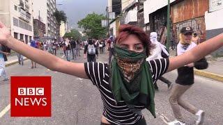 Venezuela  Anti  government protests   BBC News