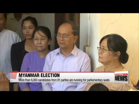 Myanmar holds first free election in 25 years   미얀마, 25년 만의 자유 총선 투표 개시…민주화 이정표