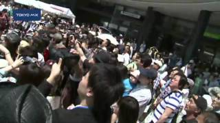 3日後に開業を控えた東京スカイツリーできょう、墨田区民による祝賀イベ...
