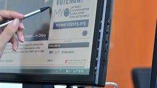 ЖК монитор сенсорный 17' 1280x1024, VGA, HDMI, TV
