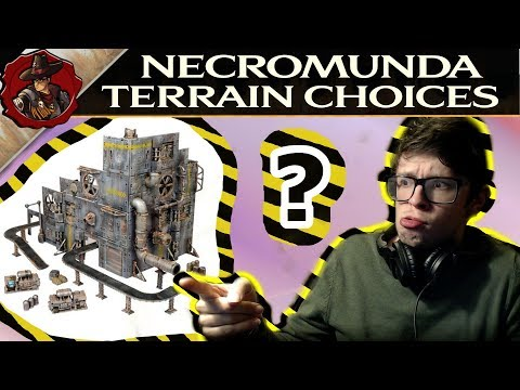 Necromunda Scenery Choices - What could you buy? - YouTube