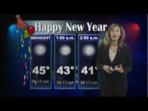 WACH New Years Eve Forecast, Alexis King