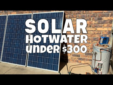 Solar Hot Water day 3, Spoiler: it works and I've subbed David