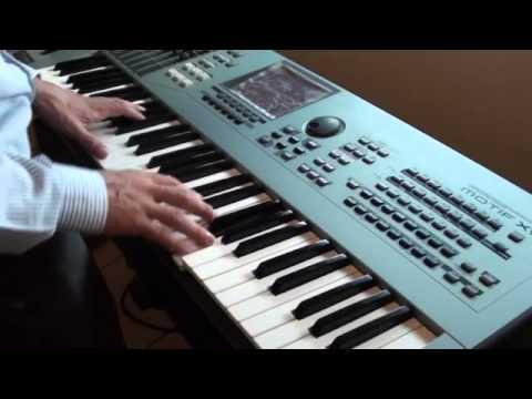 Smooth Jazz Piano Solo on Yamaha Motif XS