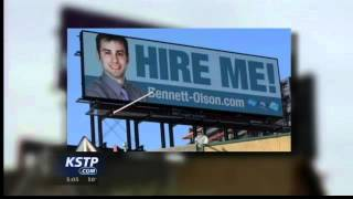 'hire Me!' Billboard Leads To Job For 22-year-old