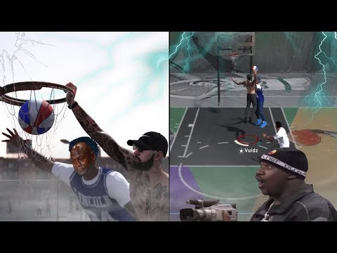CRAZIEST GAME WINNING CONTACT DUNK! (NEW ANIMATION) | DEMI GOD AT THE PARK | NBA 2K18 PLAYGROUND