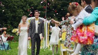 Красивая свадьба в лимонном цвете