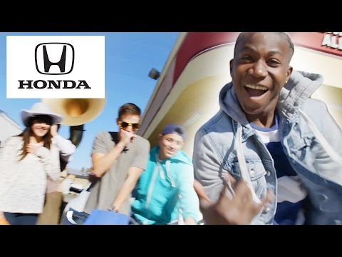 If a Drive-Thru Was a Dance Party // Presented by BuzzFeed & The All-New Honda Civic