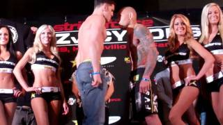 weigh-in: Nick Diaz vs. Evangelista Cyborg