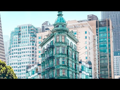 San Francisco City Streets - North Beach Zoetrope 4K walking around near Pacific Ave. by Chai Bar