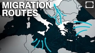 How Millions Of Migrants Are Entering Europe