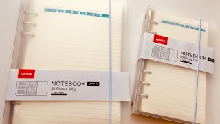 Стоит ли брать ежедневник на кольцах в Miniso - самый подробный обзор А5 и Personal