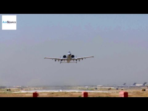 A-10s Takeoff, Land at Bagram Airfield, Afghanistan