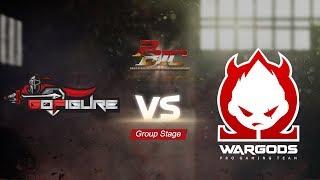 [PBIC 2017/DAY1] Go Figure VS Wargods Ace Gaming