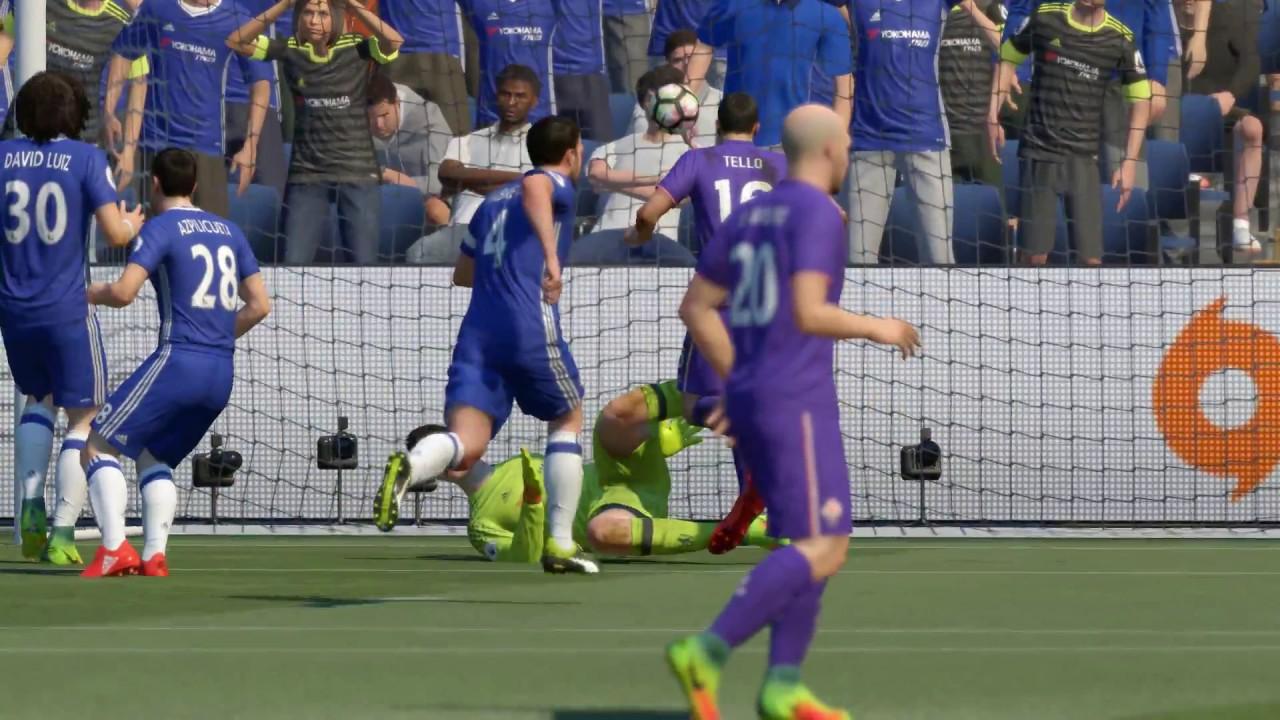 Chelsea Vs Fiorentina: FIFA 17 Chelsea VS Fiorentina Group Stage (Tournament