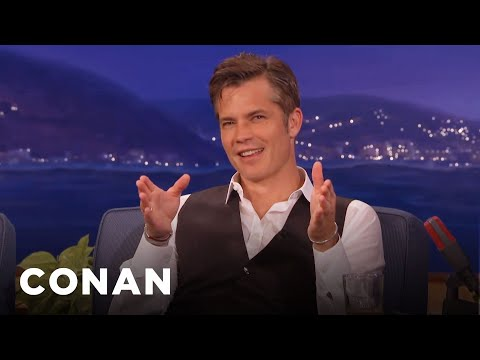 "Timothy Olyphant Auditioned For ""Iron Man""  - CONAN on TBS"