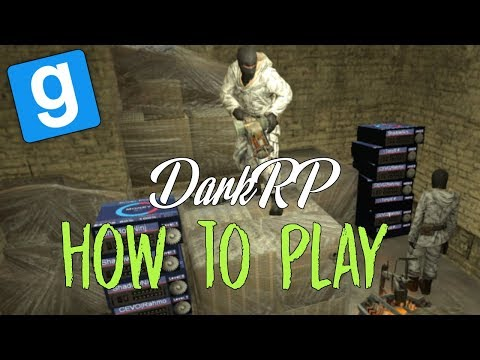 How To Play Garry's Mod DarkRP | The Basics