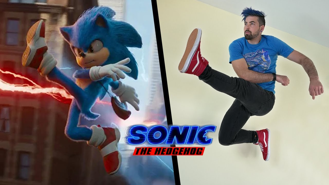 Stunts From Sonic The Hedgehog In Real Life Youtube