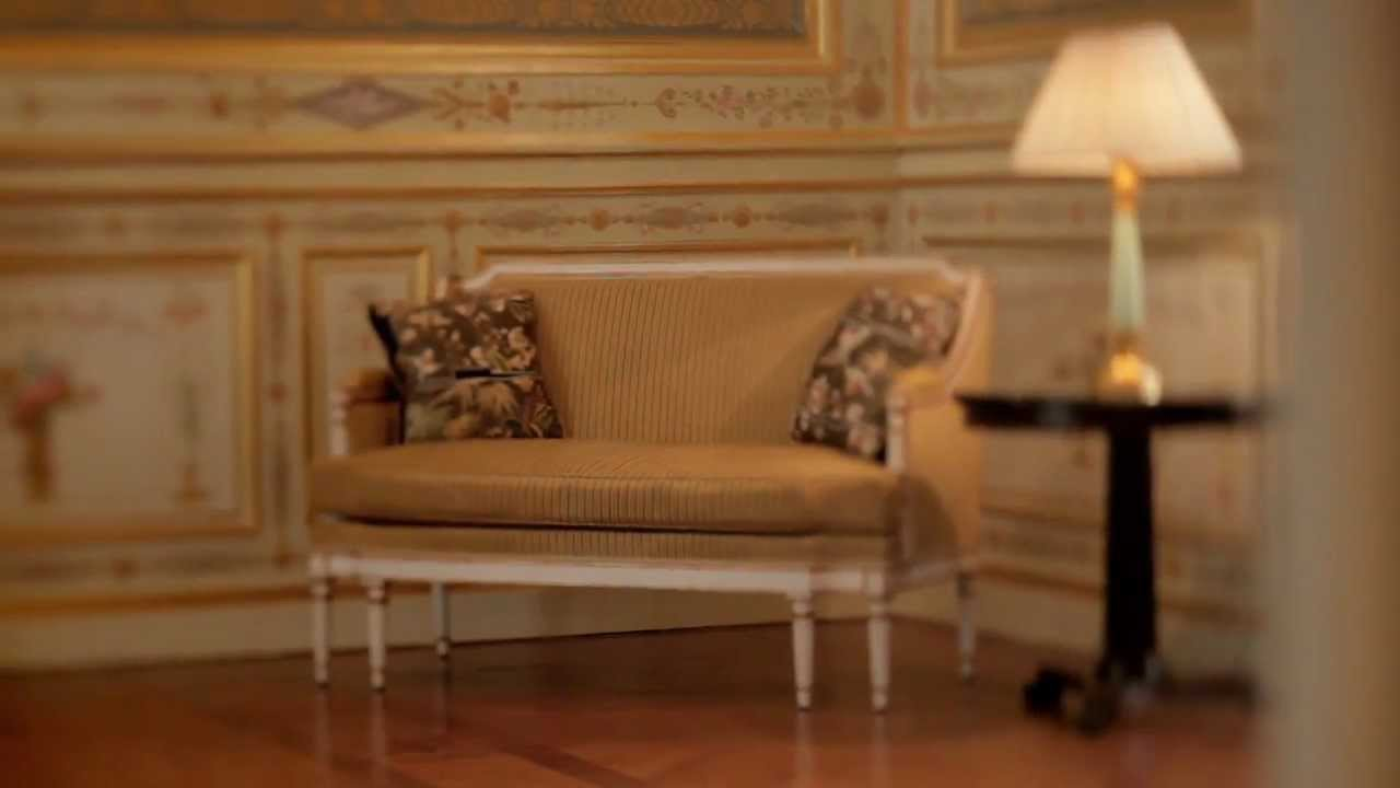 le salon de famille shangri la hotel paris youtube. Black Bedroom Furniture Sets. Home Design Ideas