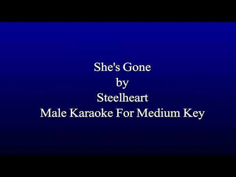 Karaoke Steelheart - She's Gone (For Medium Key Karaoke)