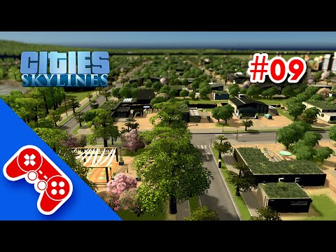 cities: skylines gameplay ITA #09: parola d'ordine pianificare! green district and yoga